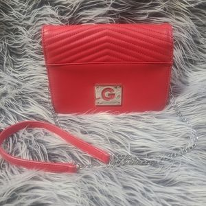 NEW-GUESS-Red Crossbody Handbag